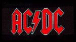 AC/DC - Patch, Red Logo