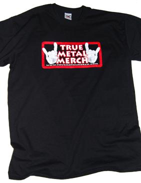 True Metal Merch - T-shirt, Logo