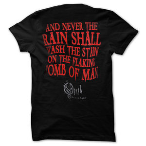 OPETH - T-SHIRT, SKULL