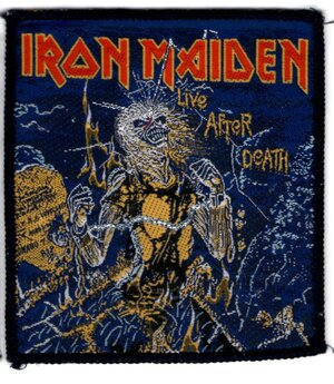 Iron Maiden - Patch, Live After Death