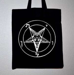 Baphomet pentagram - Tote bag/Vinyl bag