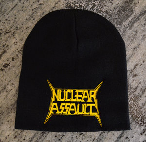 Nuclear Assault - Beanie Hat, Logo