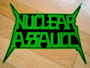 Nuclear Assault - Vinyl Sticker, Logo