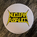 Nuclear Assault - Slipmat, Logo