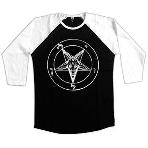 Baphomet Pentagram - Baseball / Raglan