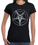 Baphomet Pentagram - Girly/Skinny