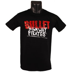 BULLET - T-SHIRT, HIGHWAY PIRATES, LOGO