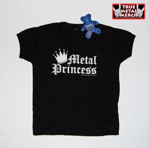 Metal Princess - Black, Baby T-shirt