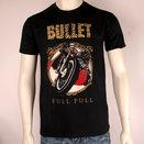 BULLET - T-SHIRT, FULL PULL (BIKER)