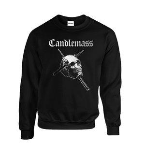 Candlemass - Logo (White) Sweatshirt